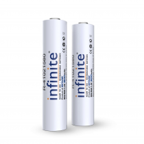 Combo - Envie Battery Charger and AAA Ni-MH Reusable Batteries (Pack of 4 AAA Batteries, 800 mAh each)