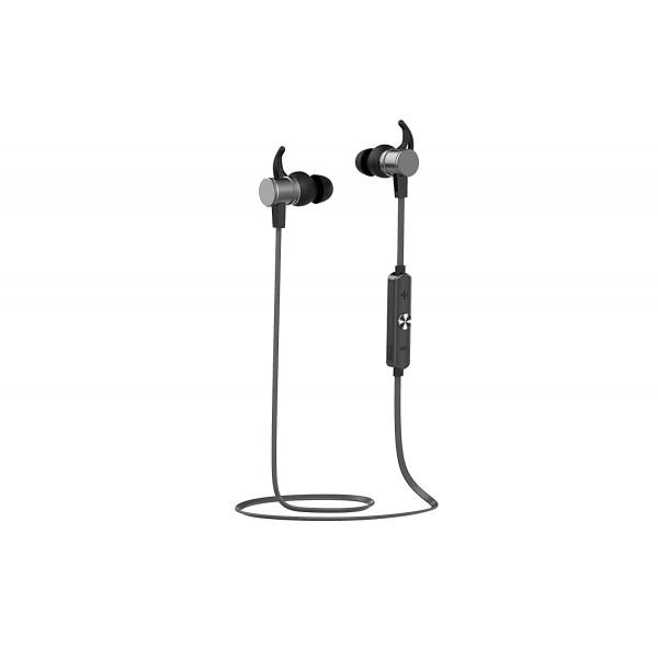 Gizmore GizMN210 - Solid Bass Bluetooth Neckband With Magnetic Earbuds