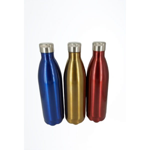 Stainless Steel Vacuum Insulated Hot n Cold Water Bottle (750 ml) - Up to 10 Hours Hot/Cold (Multi color)