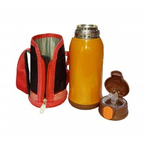 Vacuum Insulated Stainless Steel Sipper / Vacuum Flask for Kids - Up to 8 Hours Hot and Cold (Multi-color)