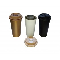 Stainless Steel, Multicolor Coffee Mug/Sipper for Home and Outdoors - Up to 4 Hours Hot and Cold