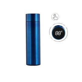 Vacuum Insulated, Multicolor Stainless Steel Hot and Cold Water Bottle/Flask (8 - 10 Hours) with LED Display - 500 ml