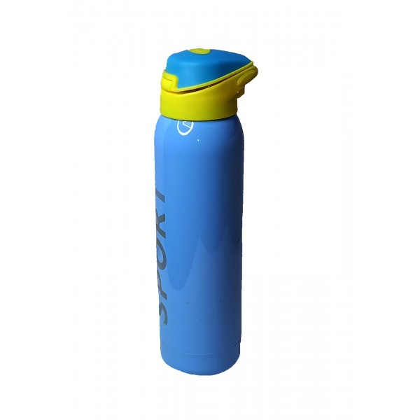 Vacuum Insulated, Stainless Steel, Multicolor Sports Sipper for Outdoors - Up to 8 Hours Hot and Cold
