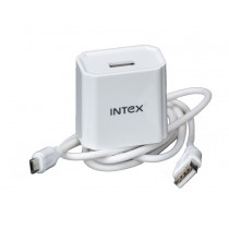 Intex Turbo 2 Amp USB Fast Charger with micro USB Cable