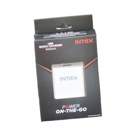Intex 3A Turbo Mobile Charger Adapter (90 days warranty)