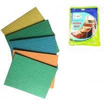 Sponge Wipes for Cleaning Glass, Tiles, Stainless Steel and Marble Surface - Pack of 5 (Large size)