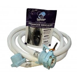 Combo Of 150 gm Lygienic Scale Remover and 3.0 Meter Water Inlet Pipe/Hose for Fully Automatic Washing Machines