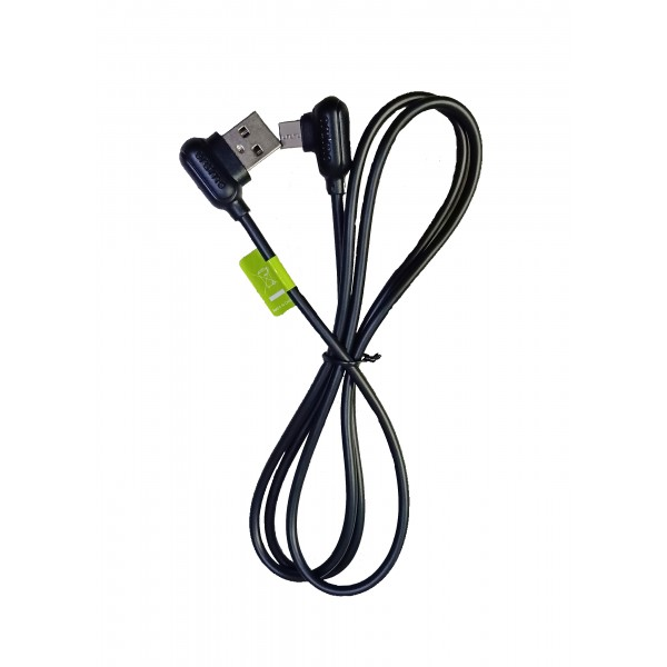 Oraimo 2.1A Fast Charging C - Type (90 Degree Angle) Data Cable - For Hassle free Gaming on Mobile Phones