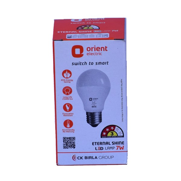7 Watt/9 Watt Orient LED Bulb for Home and Office
