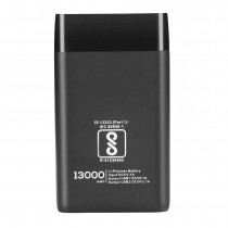 13000 mAh Digitek (Lithium Polymer) Power Bank with Fast Charge and Double USB Port