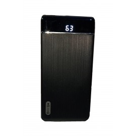 10000 mAh Quick Charging Power Bank with LED Display (Wallet 5) from Enter Go with 1 year warranty