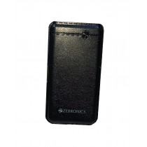 10000 mAh Quick Charging Slim Power Bank with Leather Finish and LED Indicators by Zebronics (1 year warranty)