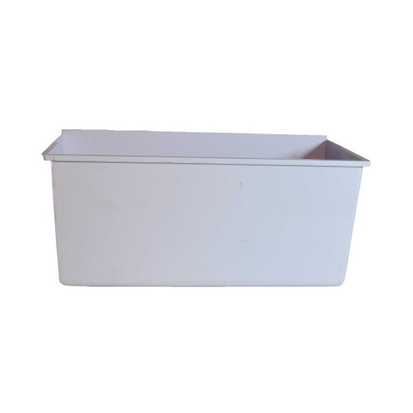 3390JF1023 - White Plastic Vegetable Basket for LG Single Door Refrigerator Models