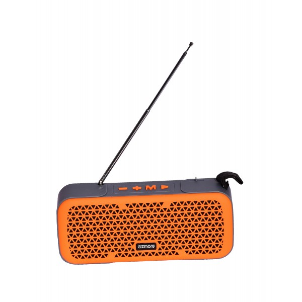Gizmore MS510 (10 Watt) Bluetooth Speaker with FM Radio Antenna
