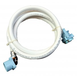 2.0 Meter Water Inlet Hose/Pipe with pre-fitted Tap Adapter for Fully Automatic Washing Machines